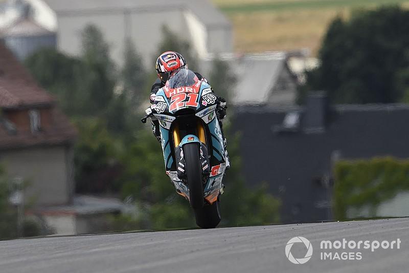 Moto2 Brno: Di Giannantonio snelste op vrijdag, Bendsneyder P17
