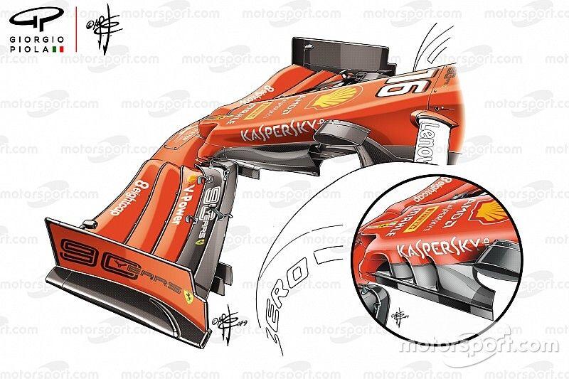 Los cambios que hicieron al Ferrari un coche ganador en Singapur