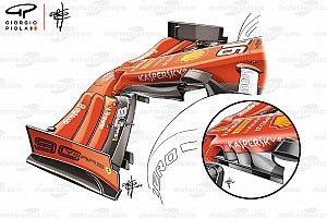 Подробности: новые детали, подарившие Ferrari дубль в Сингапуре
