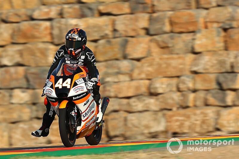 Aragon Moto3: Canet domine ederek kazandı, Deniz 24.