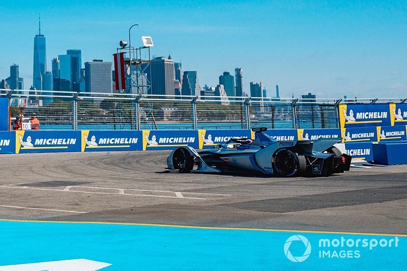 Fotogallery: gli svizzeri Buemi e Mortara negli E-Prix di New York della Formula E
