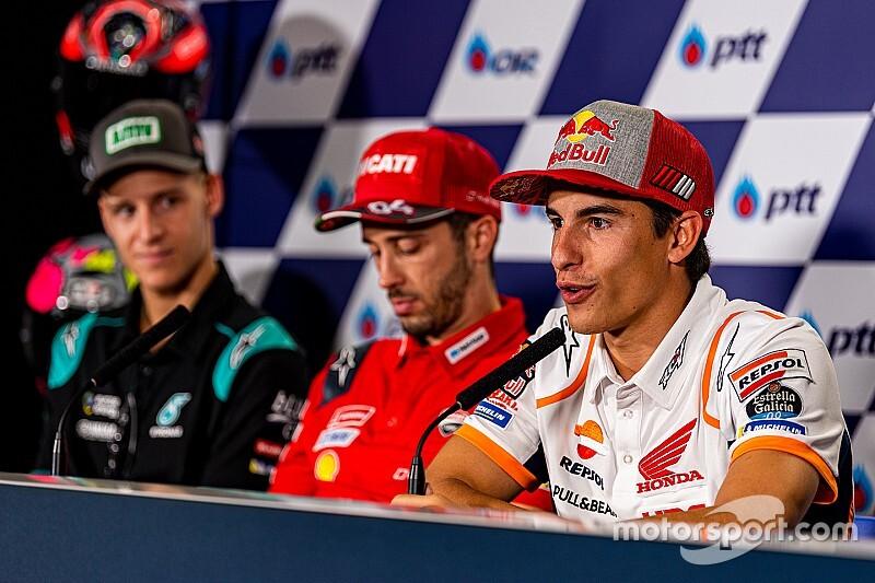 """Márquez: """"No voy a ir pendiente de un piloto, solo pensaré en la carrera"""""""