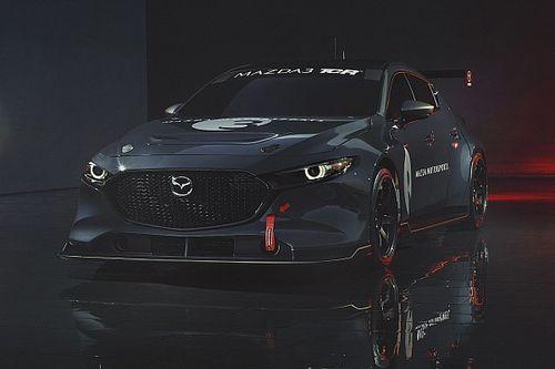 『マツダ3』ベースのTCRマシン誕生。デイトナの4時間耐久レースでデビュー