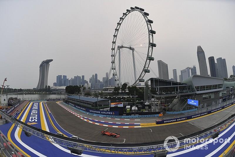 【動画】F1第15戦シンガポールGPフリー走行3回目ハイライト