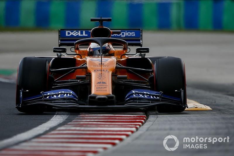 """Sainz: """"Verschuiving in discussie uitloopzones na crash Hubert"""""""