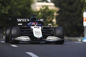 Williams, rüzgar hassasiyeti problemini azaltmak için bargeboard tasarımını değiştirdi