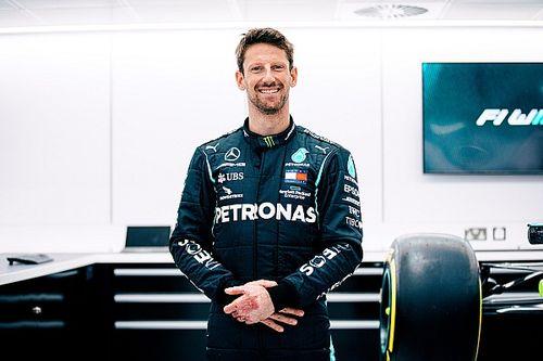Grosjean w Mercedesie