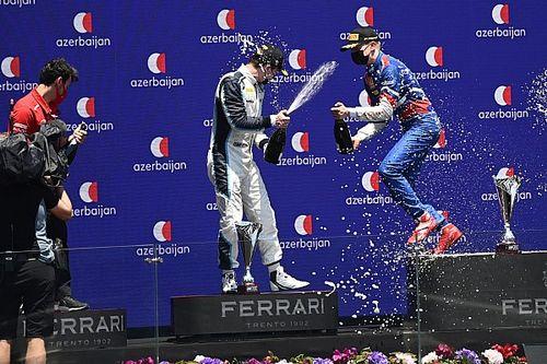 Положение в общем зачете Формулы 2 после этапа в Баку