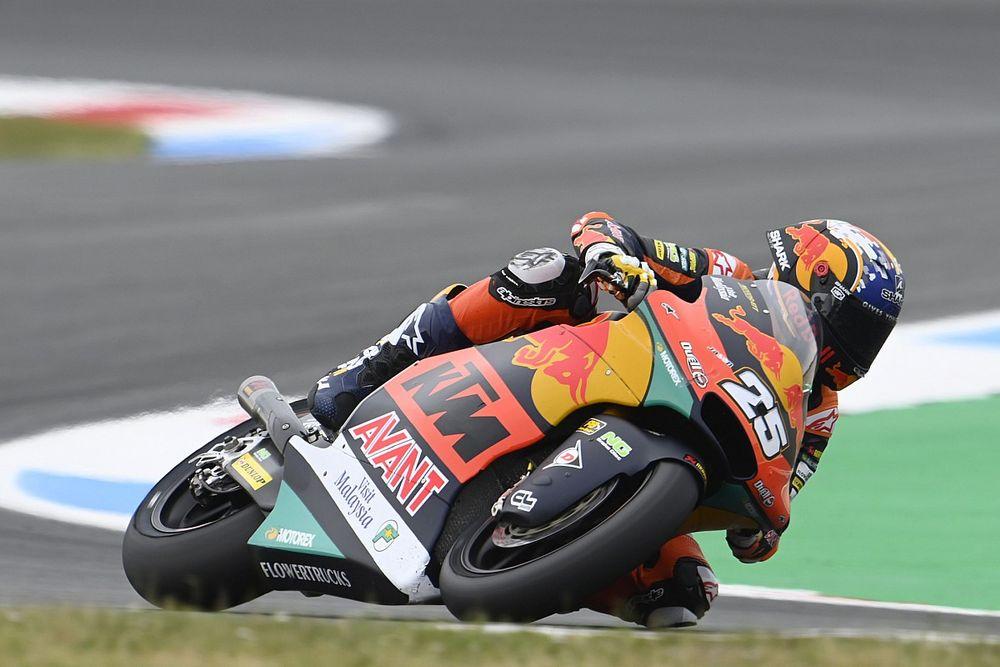 Raúl Fernández subirá a MotoGP el año que viene con Tech3-KTM