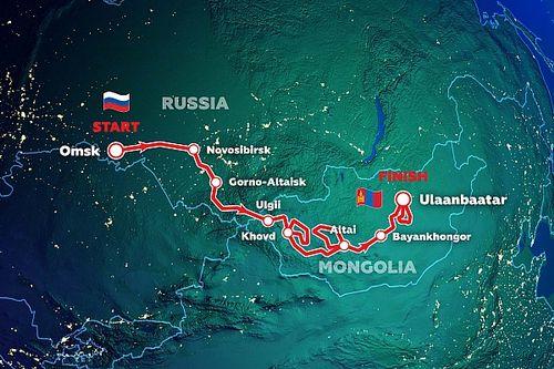 Организаторы «Шелкового пути» представили маршрут гонки 2021 года