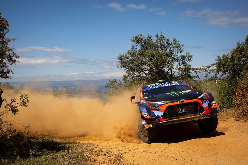 Safari WRC: Chassis damage ends Solberg's event early
