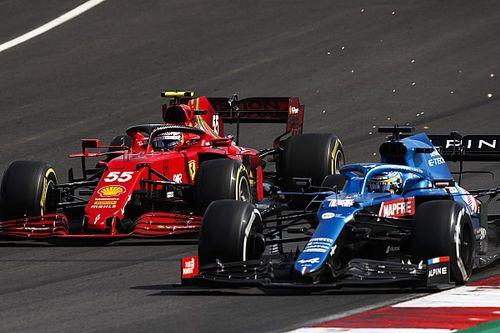 Diserang Alonso, Sainz Tidak Simpan Dendam