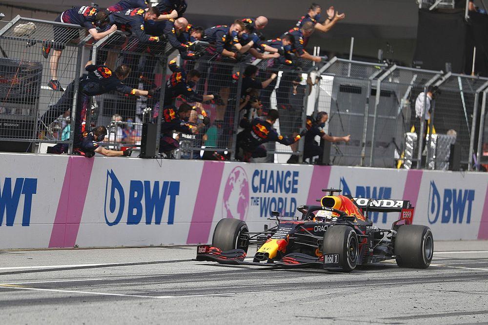オーストリアGP完全勝利のフェルスタッペン、マシンは「信じられない出来だった」