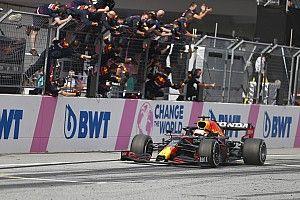 "Verstappen ""amazed"" after ""pretty insane"" Austrian GP win"