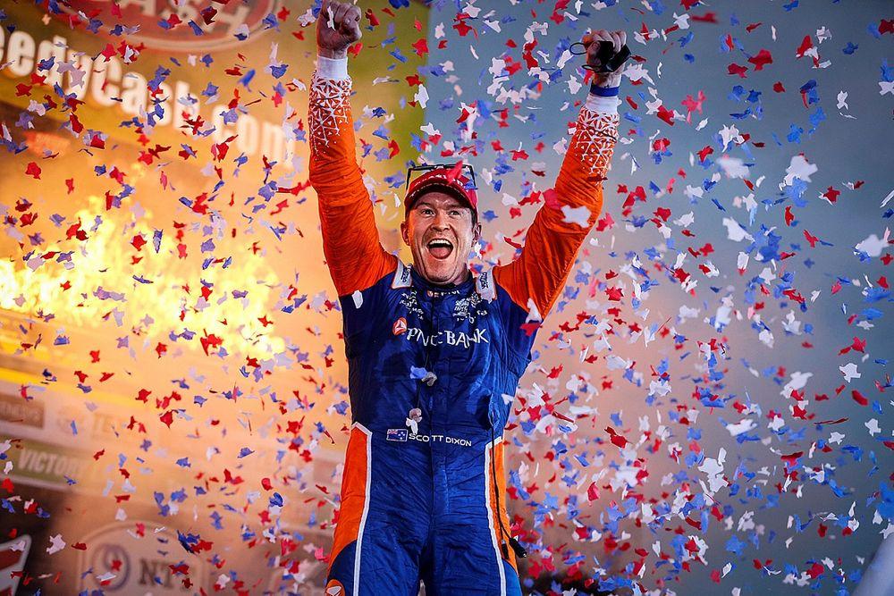 Dixon domineert in Texas, ongelukkige race voor VeeKay