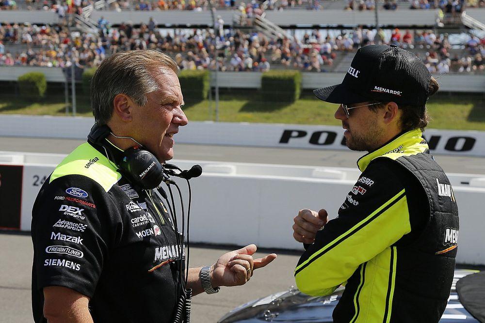 Penske crew chief Todd Gordon to retire at season's end