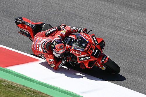 MotoGP Mugello 3. antrenman: Bagnaia, Quartararo'nun önünde lider