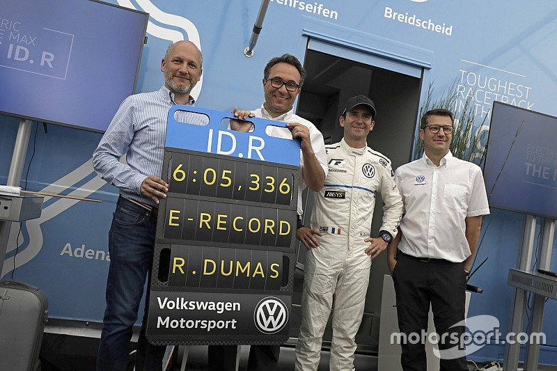 Volkswagen zmiażdżył elektryczny rekord Nordschleife
