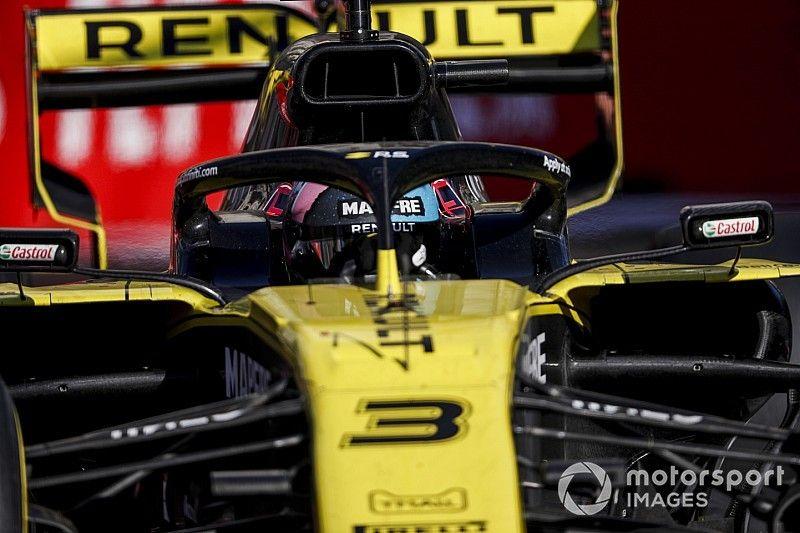 ريكاردو يتراجع ثلاثة مراكز في السباق المقبل بعد حادثته مع كفيات في باكو