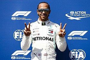 Hamilton logra su pole 86 en Francia