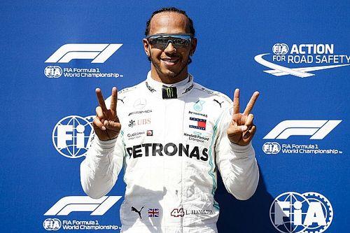 Fransa GP: Hamilton, 2019'daki üçüncü pole pozisyonunu aldı, Vettel yedinci!