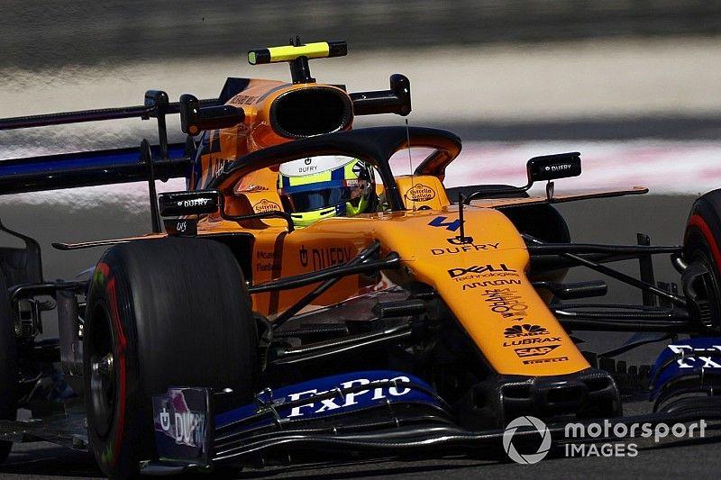 McLaren показала хороший результат в квалификации благодаря скорости в быстрых поворотах