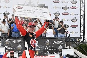 Christopher Bell takes Dover Xfinity win and $100,000 bonus
