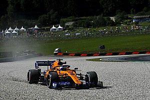 Sainz saldrá al final de la parrilla en Austria