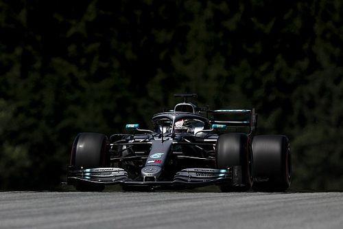Hamilton manda en Austria seguido de Vettel