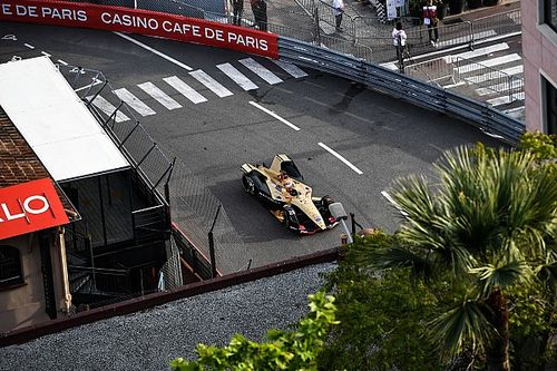 Monaco E-Prix: Rowland fastest, Vergne on pole