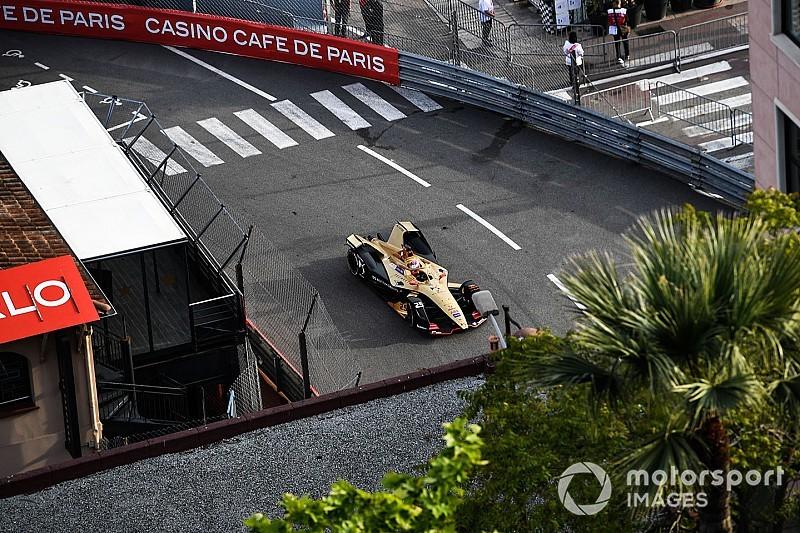 Monako E-Prix: Rowland'ın cezasıyla birlikte pole Vergne'in