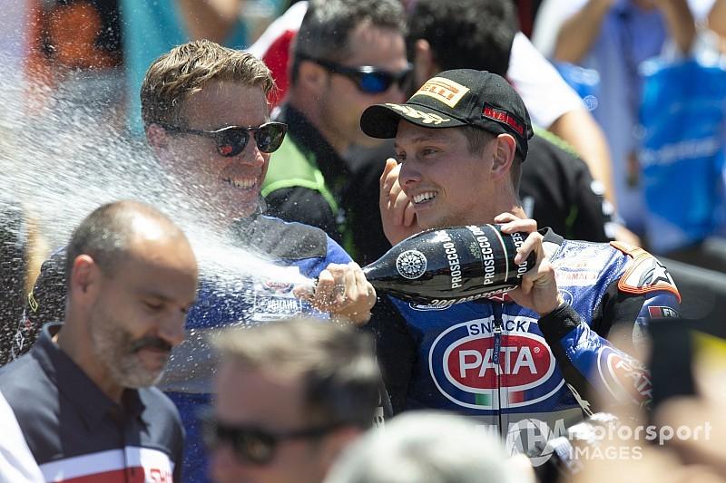 """Van der Mark boekt eerste overwinning van 2019: """"Geweldige dag"""""""