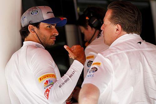 McLaren non nasconderà le informazioni a Sainz nel 2020