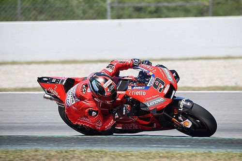 Ducati improved turning weakness in Barcelona test