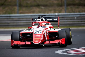 Armstrong quickest on first day of Hungaroring F3 test