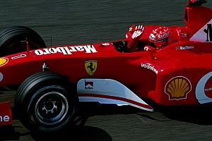 Mobil eks Schumacher dilelang di Abu Dhabi