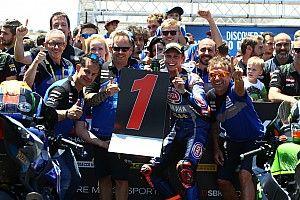 Van der Mark confirme les progrès de Yamaha avec une victoire