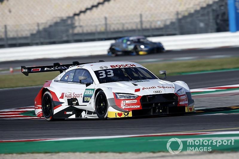 A Misano le Audi dettano legge con René Rast in Pole Position, Dovizioso 15° in crescita