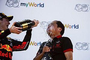 Red Bull et Honda surpris d'avoir gagné avant Ferrari