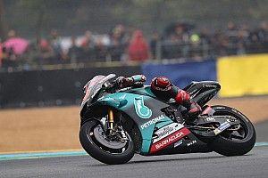 Quartararo snelste in warm-up voor Grand Prix van Frankrijk