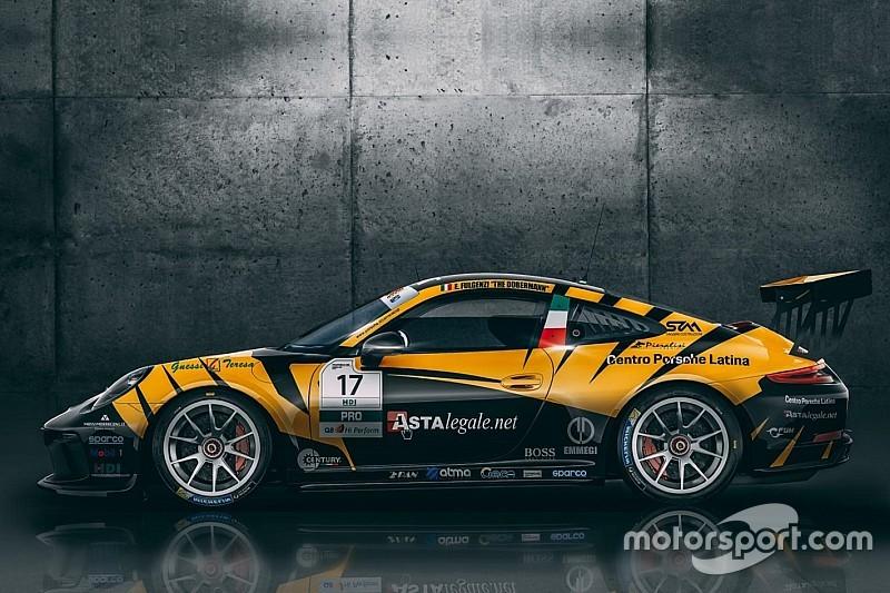 Carrera Cup Italia, nuovo look per la 911 di Fulgenzi-Tsunami da Imola