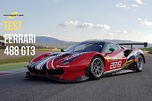 Test Ferrari 488 GT3: il segreto sta nello sfruttare gli oltre 500 cv con l'effetto suolo