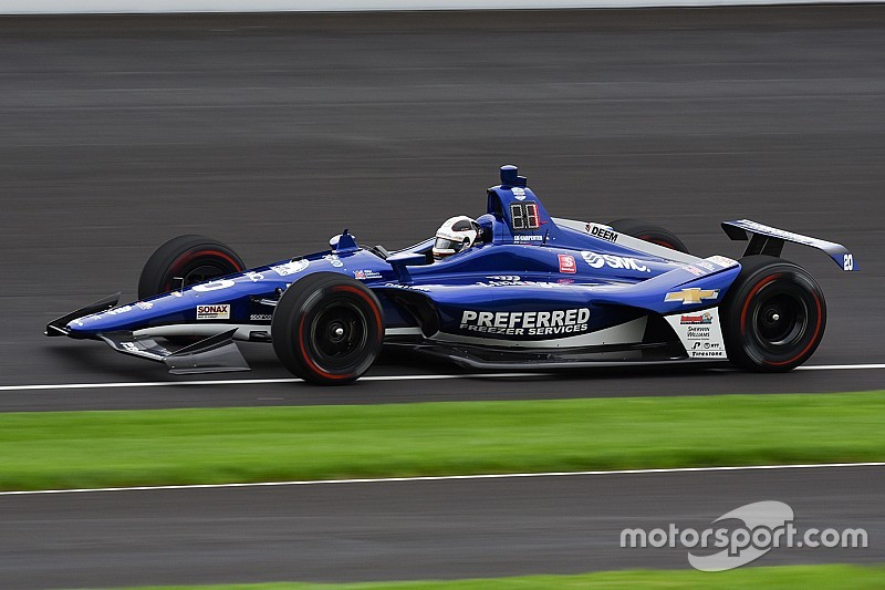 Indy 500: Carpenter leads Castroneves in opening practice