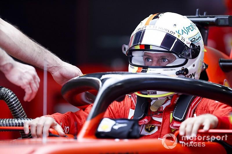 Vettel nem érti, miért lassú a Ferrari