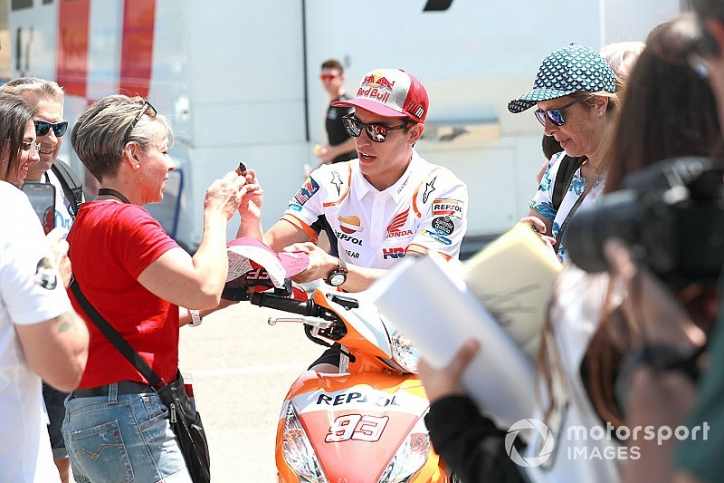 "Marquez: ""Non sarei sorpreso se Lorenzo fosse primo in FP3"""