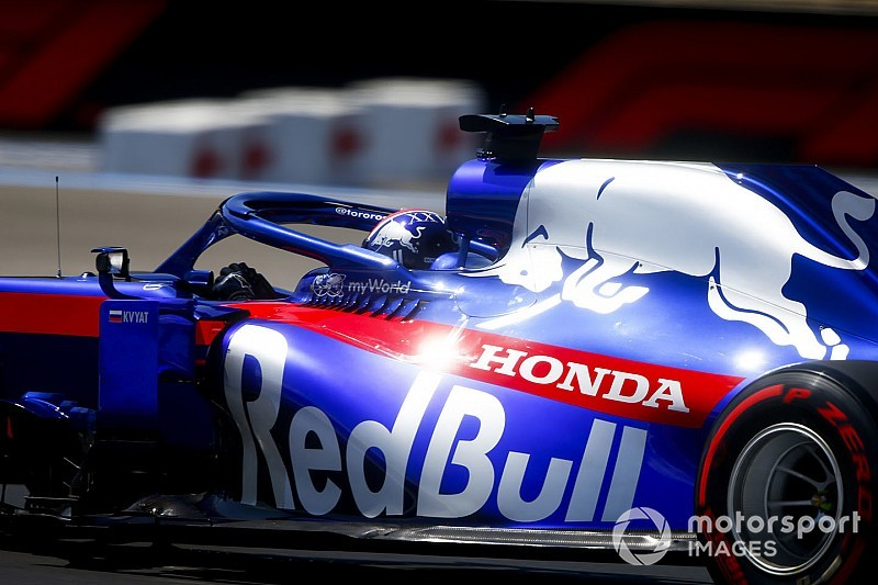 Honda introduceert Spec 4 voor Albon en Kvyat in Spa