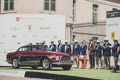 Une Ferrari 250 GT Europa 1953 by Vignale grande gagnante du Concours d'Elégance Suisse