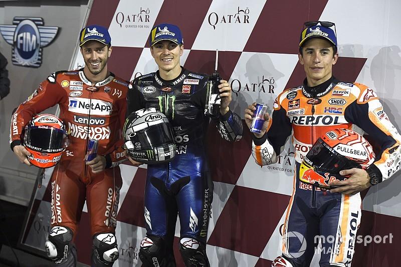 """Márquez: """"No sólo Viñales, muchos son rápidos entrenando, pero la carrera es otra cosa"""""""