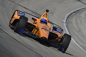 Video: Alonso test met McLaren voor Indy 500-project van 2019
