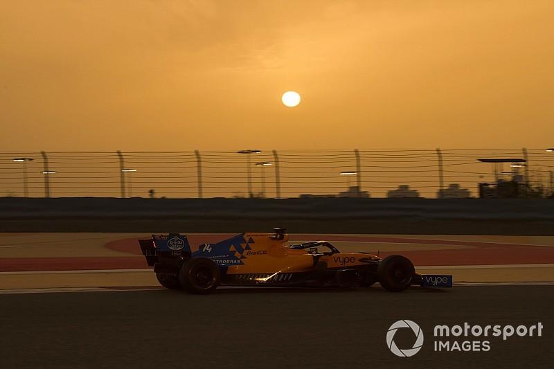 Las fotos del test de la F1 en Bahrein
